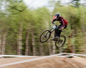 Highlands of Scotland15th May 2016 UK The British downhill series race held in Fort William Nevis Range Kenny Ferguson/ Scottish Viewpoint uk,u.k,Great Britain,GB,G.B,Scotland,Scottish,1 person,daytime,outdoors,activity,activities,cycling,cyclist,cyclists,bike,bikes,biking,biker,bikers,bicycle,bicycles,mountain