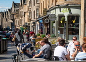View of shops and cafes  on historic Cockburn Street in Old Town of Edinburgh, Scotland, UK Iain Masterton /Scottish Viewpoint Edinburgh,old town,old town Edinburgh,Cockburn Street Edinburgh,historic,shops,cafes,restaurants,outdoor,summer,travel tourism,tourism edinburgh,tourists edinburgh,Scotland,Scottish architecture,scott