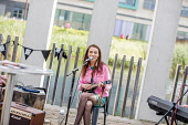 HIE/SDI Food & Drink Showcase. An Lochran, Inverness.A musician at the eventPicture Credit Paul Campbell/HIE 2018,food,festival,people,drink,showcase,eat,sing,perform,performer,performance,music,musician,island