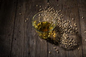 Whisky in a glassPicture Credit John Paul/HIE 2018,food,stock,whisky,drink,glass,glasses,barley