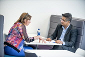 An Lochran and Inverness Campus stock photography, July 2016Picture Credit Tim Winterburn / HIE Highlands,Islands,Enterprise,HIE,An Lochran,Inverness,Campus,2016,office,offices,2 people