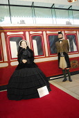 THE OLD ROYAL STATION - THE RESTORED VICTORIAN STATION USED BY QUEEN VICTORIA ON VISITS TO BALMORAL NOW A VISITOR AND TOURIST INFORMATION CENTRE, BALLATER, ABERDEENSHIRE. Historical picture as the sta... Chris Robson /Scottish Viewpoint ATTRACTION,COSTUME,DISPLAY,INTERIOR,MUSEUM,ROYAL DEESIDE,TIC