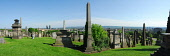 THE NECROPOLIS - AN EXTENSIVE CEMETERY SPRAWLING OVER A HILLSIDE EAST OF GLASGOW CITY CENTRE. Chris Robson /Scottish Viewpoint ARCHITECTURE,GENEALOGY,GRAVES,HERITAGE,MONUMENT,RELIGION,SUMMER,SUNNY,TOMB,NECROPOLIS,4 people