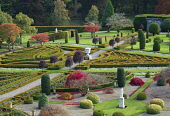 View of Drummond Castle Garden in the autumn in Crieff, Scotland, UK Iain Masterton/Scottish Viewpoint uk,u.k,Great Britain,GB,G.B,Scotland,Scottish,nobody,daytime,outdoors,Drummond Garden,Drummond Gardens,Drummond Castle Garden,Drummond Castle Gardens,Drummond Garden Scotland,United Kingdom,formal gar