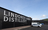 View of Lindores Abbey Distillery in Newburgh, Fife, Scotland, UK Iain Masterton /Scottish Viewpoint Lindores Abbey Distillery,scotch whisky distillery,Lindores scotch whisky distillery,Scotland,Scottish,UK,United Kingdom,building exterior,distilleries,newburgh,Fife. building exterior