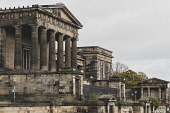 Exterior view of former Old Royal High School on Calton Hill in Edinburgh, Scotland, UK. Iain Masterton /Scottish Viewpoint old Royal High School,edinburgh,Calton Hill,Edinburgh Royal High School,Royal High School Edinburgh,daytime,exterior,abandoned,closed,disused,heritage,listed,protected,Scotland Scottish,UK,United King