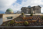Edinburgh, Scotland, UK. 21 November, 2018. The historic City Observatory on Calton Hill will reopen as The Collective, an arts organisation and will feature the restored City Observatory, City Dome,... Iain Masterton /Scottish Viewpoint Scotland,Scottish,Edinburgh,Edinburgh Collective,collective,city observatory,Edinburgh City observatory,new,architecture,arts,UK,United Kingdom,travel,tourism,city,capital city,calton hill,art gallery