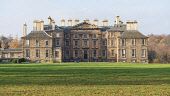 View of Dalkeith Palace stately home, in Dalkeith Country Park in Midlothian, Scotland , UK Iain Masterton /Scottish Viewpoint Dalkeith Palace stately home,Dalkeith country park,Midlothian,daytime,Scotland,Scottish,homes,stately homes,UK,united Kingdom,Britain,British,Europe,European,grand,house,building exterior,afternoon,au