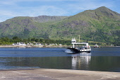 Looking across Loch Linnhe at Onich Corran Ferry, Fort William, Highland Region, Scotland UK Dennis Barnes /Scottish Viewpoint uk,u.k,Great Britain,GB,G.B,Scotland,Scottish,nobody,daytime,outdoors,highlands,Loch,Linnhe,Onich,Corran,car,Ferry,narrows,Ardgour,Peninsula,Fort,William,Highland,Region