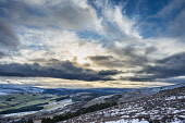 Glen Rinnes and the Glenlivet and Tomintoul hills from the slopes of Ben Rinnes Alan Gordon/Scottish Viewpoint Dufftown,Glenlivet,Moray,Scotland,atmospheric,dramatic,glen,hills,landscape,mountains,nobody,rural,sky,snow,valley,winter