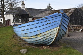 gairloch heritage museum;gairloch;wester ross;scotland Mark Hicken/Scottish Viewpoint uk,u.k,Great Britain,GB,G.B,Scotland,Scottish,nobody,daytime,outdoors,gairloch,gairloch heritage museum,heritage,maritime,museum,wester ross,boats