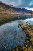 Reflections across Loch Achtriochtan and the Aonach Eagach Ridge in Glencoe, Scotland Jason Baxter/Scottish Viewpoint uk,u.k,Great Britain,GB,G.B,Scotland,Scottish,nobody,daytime,outdoors,Achtriochtan,Aonach Eagach,beauty,glencoe,highlands,landscape,loch,natural,nature,reflections,remote,ridge,rural,rural landscape,r
