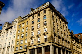 Traditional office building in West Nile Street, Glasgow, Scotland Andrew Wilson /Scottish Viewpoint uk,u.k,Great Britain,GB,G.B,Scotland,Scottish,nobody,daytime,outdoors,architecture,buildings,Glasgow,looking up,modern,old