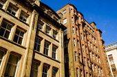 Traditional architecture in West Nile Street, Glasgow, Scotland Andrew Wilson /Scottish Viewpoint uk,u.k,Great Britain,GB,G.B,Scotland,Scottish,nobody,daytime,outdoors,architecture,buildings,Glasgow,looking up,modern,old