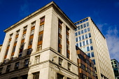 Traditional  building in West Nile Street, Glasgow, Scotland Andrew Wilson /Scottish Viewpoint uk,u.k,Great Britain,GB,G.B,Scotland,Scottish,nobody,daytime,outdoors,architecture,buildings,Glasgow,looking up,modern,old