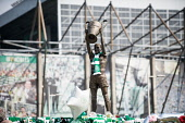Fans and former Rangers manger John Greig pay tribute to former player, manager and Lisbon Lion Billy McNeill Tony Clerkson /Scottish Viewpoint uk,u.k,Great Britain,GB,G.B,Scotland,Scottish,people,daytime,outdoors,Billy McNeill,rangers,football,celtic,glasgow,park