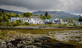 The village of Arisaig on the west coast of Scotland Andrew Wilson/Scottish Viewpoint uk,u.k,Great Britain,GB,G.B,Scotland,Scottish,nobody,daytime,outdoors,Arisaig,Coastal,coast,highlands,rocks,tidal,tide out,west coast,coastline,water,sea,village
