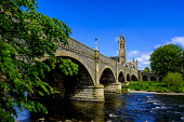 Bridge over the River Tweed in the borders town of Peebles, Scotland Andrew Wilson/Scottish Viewpoint uk,u.k,Great Britain,GB,G.B,Scotland,Scottish,nobody,daytime,outdoors,bridge,may,Peebles,River Tweed,Scottish Borders,spring,springtime,sunshine
