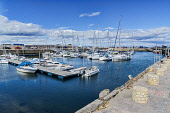 Nairn harbour, marina, boats,  Moray Firth,  Highland sRegion, Scotland UK Dennis Barnes/Scottish Viewpoint uk,u.k,Great Britain,GB,G.B,Scotland,Scottish,nobody,daytime,Nairn,harbour,marina,boats,Moray Firth,Moray,Firth,Coast,Highland,coastal,coastline,water,town