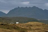 looking over to the cuillin mountain range;skye;scotland Mark Hicken /Scottish Viewpoint uk,u.k,Great Britain,GB,G.B,Scotland,Scottish,nobody,daytime,outdoors,vista,skye,struan,black,cuillin,clouds,cuillins,mountain,morning,island,islands,isle,isles,mountains,hill,hills