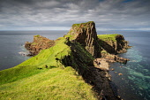 Brothers Rock - a rocky outcrop on the west coast of the Isle of Skye on a summers day, Jason Baxter /Scottish Viewpoint brothers rock,cliff,cliffs,coast,coastal,coastline,daytime,geography,inner hebridies,isle of skye,natural light,remote,rocks,rocky,scenery,scenic,scotland,scottish,scottish coast,seascape,shoreline,su