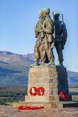 The Commando memorial near Fort William overlooking Ben Nevis on a sunny summers morning Jason Baxter /Scottish Viewpoint Remembrance,Spean Bridge,WW2,beauty,commando,commando memorial,dawn,fort william,lochaber,memorial,quiet,rememb,scenic,scotland,scottish,scottish highlands,serene,statue,summer,tourism,tourist destina