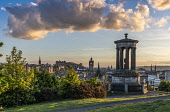 Calton Hill view, Edinburgh Allan Wright  /Scottish Viewpoint united kingdom,edinburgh,scotland,lothians,capital city of scotland,auld reekie,sunny,blue sky,calton hill,calton hill view,national monument,monument,pillars,dramatic,atmospheric,ambient light,castle