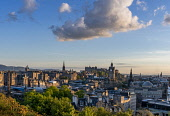 Calton Hill view, Edinburgh Allan Wright  /Scottish Viewpoint united kingdom,edinburgh,scotland,lothians,capital city of scotland,auld reekie,sunny,blue sky,calton hill,view,national monument,cityscape,skyline,princes,street,castle