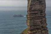 Northlink Ferry passing Old Man of Hoy, Orkney Allan Wright /Scottish Viewpoint ferry,hoy,northlink,old man of hoy,orkney,scotland,scottish,ferries,transport,travel,travelling,boat,coast,coastal,coastline,water,sea,island,islands,isle,isles