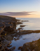 Cliffs at Deerness Nature reserve , Mainland Orkney at sunrise. Allan Wright /Scottish Viewpoint cliff walk,cliffs,coast,deerness,mainland,orkney,reserve,scotland,scottish,sea,shore,coastal,coastline,water,island,islands,isle,isles,cliff