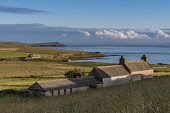 Views from by Herston, South Ronaldsay, Orkney Allan Wright /Scottish Viewpoint STEADING,coast,evening light,herston,orkney,scotland,scottish,shore,south ronaldsay,farming,farm,buildings,coastal,coastline,water,sea,cottage,cottages,housing,house,houses,island,islands,isle,isles