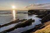Sunset from cliff walk near  Burwick , South Ronaldsay Allan Wright /Scottish Viewpoint burwick,cliff,coast,habitat,orkney,rocky,scotland,scottish,shore,south ronaldsay,sunset,coastal,coastline,water,sea,island,islands,isle,isles