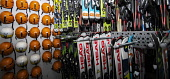 Cairngorm Mountain   Snowboards and helmets Gillian Frampton/HIE 2020,Mountain,cairngorm,ski,HIE2,activity,activities,skiing,skier,skiers,sport,snow,snowsport,snowsports,winter,cairngorms,mountains,hill,hills,national,park,in,shop,hire,top