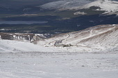 Cairngorm Mountain    Looking down from the mountain Gillian Frampton/HIE 2020,Mountain,cairngorm,ski,HIE2,activity,activities,skiing,skier,skiers,sport,snow,snowsport,snowsports,winter,cairngorms,mountains,hill,hills,national,park,landscape