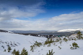 Cairngorm Mountain   Looking across to loch and mountains in the distance Gillian Frampton/HIE 2020,Mountain,cairngorm,ski,HIE2,activity,activities,skiing,skier,skiers,sport,snow,snowsport,snowsports,winter,cairngorms,mountains,hill,hills,national,park