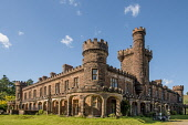 Kinloch castle isle of Rum Allan Wright  /Scottish Viewpoint casrle,rum,small isles,lochaber,united kingdom,scotland,rhum,nobody,outdoors,daytime,island,islands,isle,isles