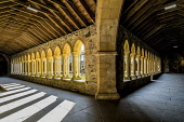 Iona Abbey cloisters, Iona Allan Wright  /Scottish Viewpoint inner,hebrides,iona,cloisters,iona abbey,praying,enchanting,peaceful,religious,restful,solitude,tranquil,sweet,graceful,warm,ambient light,grandeur,reflection,atmospheric,nobody,island,islands,isle,is