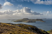 Tanera Mor, Summer Isles Allan Wright  /Scottish Viewpoint escaping,exploring,island hopping,blue sky,bright,distant,remote,solitude,summer,sunny,blue,island,islets,sea,Tanera Mor,Summer Isles,united kingdom,scotland,coast,coastal,coastline,water,islands,isle