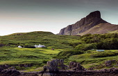 scaur of eigg, Isle of Eigg, Inner Hebrides Allan Wright  /Scottish Viewpoint uk,u.k,Great Britain,GB,G.B,Scotland,Scottish,nobody,daytime,outdoors,summer,restful,remote,peaceful,tranquil,bright,sunny,colourful,island,community owned,Isle of Eigg Community,eigg,small isles,west