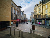 Normally bustling shopping hub Buchanan Street is empty Glasgow city centre is deserted as people stay at home amid Coronavirus crisis Tony Clerkson /Scottish Viewpoint Coronavirus,Coronavirus lockdown,Covid-19,Glasgow,Glasgow City Centre,Glasgow lockdown,Quiet glasgow city centre,UK Lockdown,deserted Glasgow streets,empty commercial centre,empty shopping centre,empt