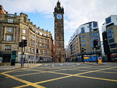 Glasgow Cross as city centre is deserted as people stay at home amid Coronavirus crisis Tony Clerkson /Scottish Viewpoint Coronavirus,Coronavirus lockdown,Covid-19,Glasgow,Glasgow City Centre,Glasgow lockdown,Quiet glasgow city centre,UK Lockdown,deserted Glasgow streets,empty commercial centre,empty shopping centre,empt