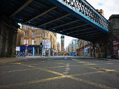 Empty Saltmarket street as Glasgow city centre is deserted as people stay at home amid Coronavirus crisis Tony Clerkson /Scottish Viewpoint Coronavirus,Coronavirus lockdown,Covid-19,Glasgow,Glasgow City Centre,Glasgow lockdown,Quiet glasgow city centre,UK Lockdown,deserted Glasgow streets,empty commercial centre,empty shopping centre,empt