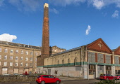 The old mill, Brown st chimney, Dundee. Allan Wright /Scottish Viewpoint United Kingdom,scotland,angus,dundee,urban,broughty ferry castle,the old mill,brown st,chimney,city,cities