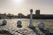 pier detail and bollards, Broughty Ferry Castle, Dundeee Allan Wright /Scottish Viewpoint United Kingdom,scotland,angus,dundee,urban,broughty ferry castle