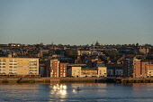 Shore view, Dundee in evening light Allan Wright /Scottish Viewpoint United Kingdom,scotland,angus,dundee,urban,architecture,buildings,tay estuary,city,cities