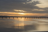 Tay Rail Bridge sunset, Dundee Allan Wright /Scottish Viewpoint United Kingdom,scotland,angus,dundee,river tay,tay estuary,tay rail bridge,bridge,dusk,sunset,beautiful,atmospheric,ambient light,amber,colourful,golden,warm,coast,coastal,coastline,water,sea
