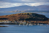 Evening light over the Kerrera Marina, Oban, Argyll Tony Hardley /Scottish Viewpoint scotland,oban,kerrera,isle of Kerrera,west highlands,oban bay,yachts,marina,sailing,islands,scottish islands,coast,coastal,coastline,water,sea