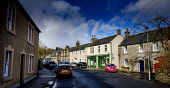 The Main Street in the village of West Linton in the Scottish Borders,  Scotland Andrew Wilson /Scottish Viewpoint Scotland,West Linton,commuter village,houses,housing,main street,picturesque village,quaint village,small village,village