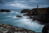 A dramatic overcst evening shot using a long exposure overlooking the Butt of Lewis Lightouse, Outer Hebridies, Scotland Jason Baxter /Scottish Viewpoint Butt of Lewis,atlantic,atmospheric,beauty,cliffs,coast,coastal,coastline,dramatic,dusk,evening light,geography,geology,isle of lewis,light-house,lighthouse,long exposure,moody,outer hebrides,peninsula