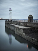 The harbour at Newhaven, Edinburgh Jason Baxter /Scottish Viewpoint newhaven,edinburgh,harbour,harbor,long exposure,evening,dusk,cloudy,medium format,lighthouse,wall,overcast,clouds,scotland,scottish,quay,quayside,maritime,marine,firth of forth,forth,low tide,tide,emp